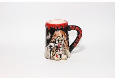 Halbă ceramică vampire blood