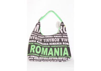 Geantă textilă mare Romania