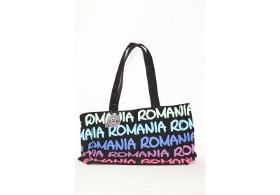 Geantă textilă medie Romania