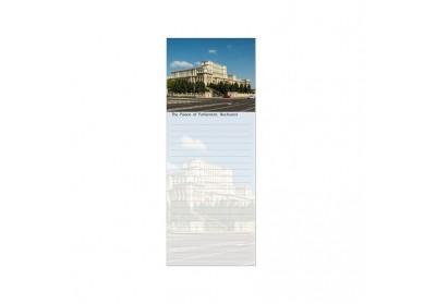 Blocnotes Palatul Parlamentului vedere de zi