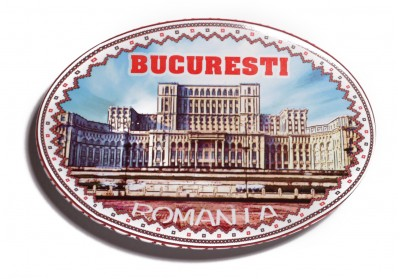 Magnet Bucuresti bottle opener