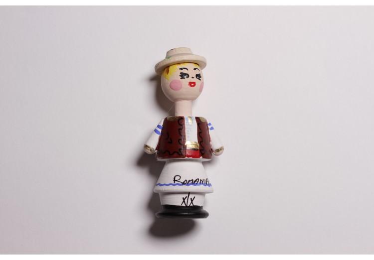 Magnet de lemn artizanal Taran